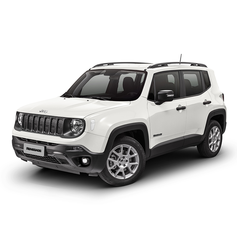 Jeep RENEGADE SPORT 4X2 1.8L AT ALPINE WHITE Exterior 2