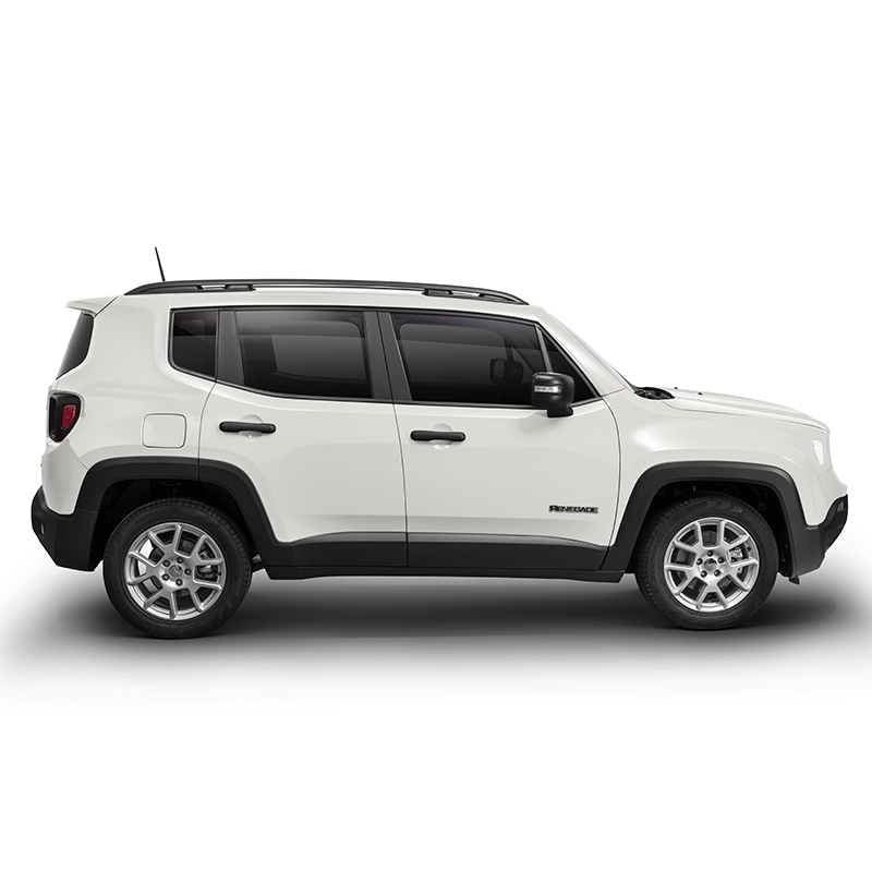 Jeep RENEGADE SPORT 4X2 1.8L AT ALPINE WHITE Exterior 3