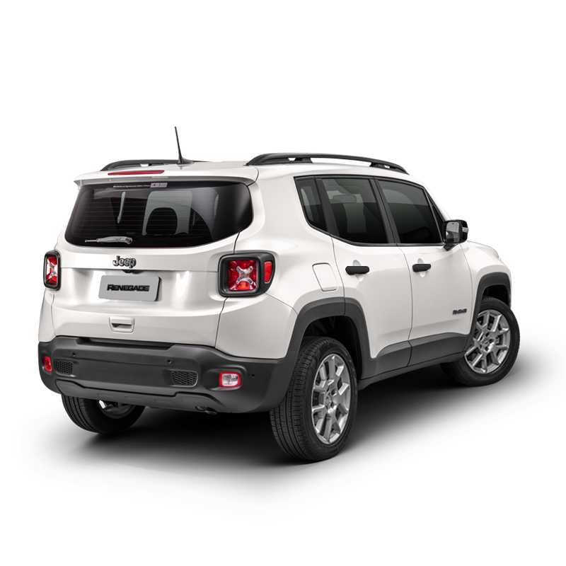 Jeep RENEGADE SPORT 4X2 1.8L AT ALPINE WHITE Exterior 4
