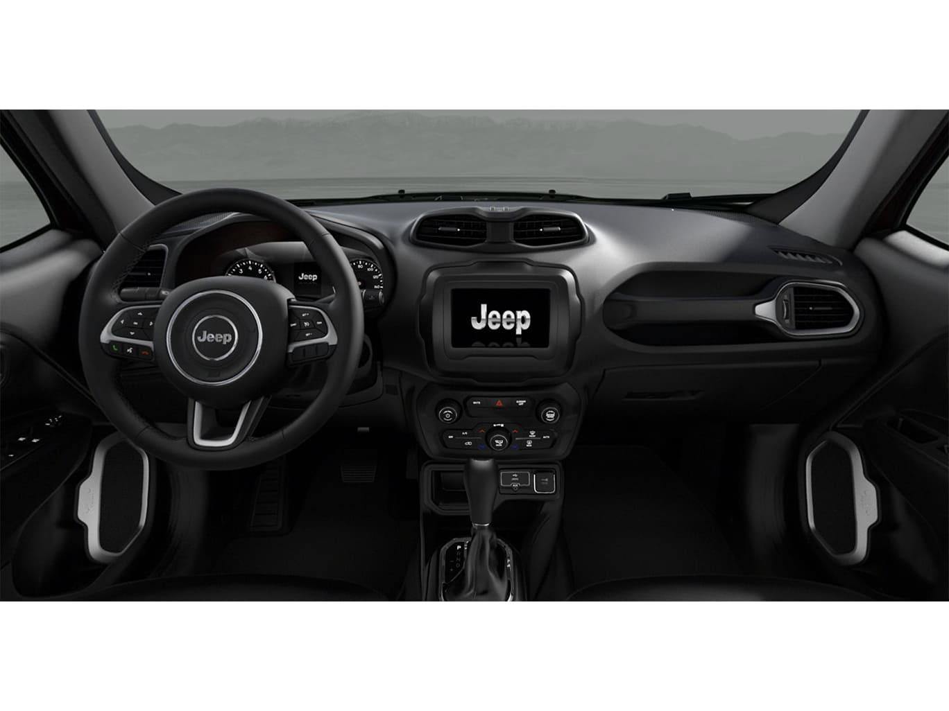 Jeep RENEGADE SPORT 4X2 1.8L AT NEGRO Interior 1