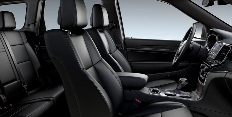 Jeep GRAND CHEROKEE LIMITED DELUXE 4X4 3.6L AT BLACK Interior 2