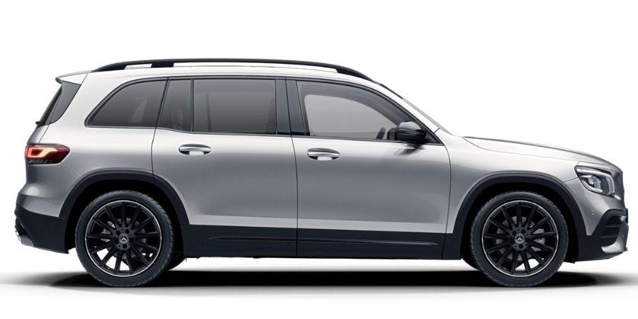 Mercedes-Benz GLB 200 KIT AMG NIGHT EDITION PLATA IRIDIO Exterior 2