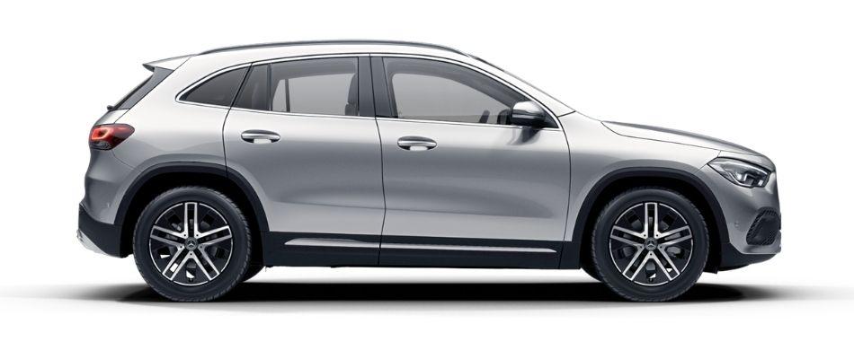 Mercedes-Benz GLA 200 PROGRESSIVE PLATA IRIDIO Exterior 2