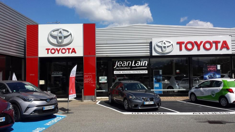 Toyota - Jean Lain Automobiles - Grenoble