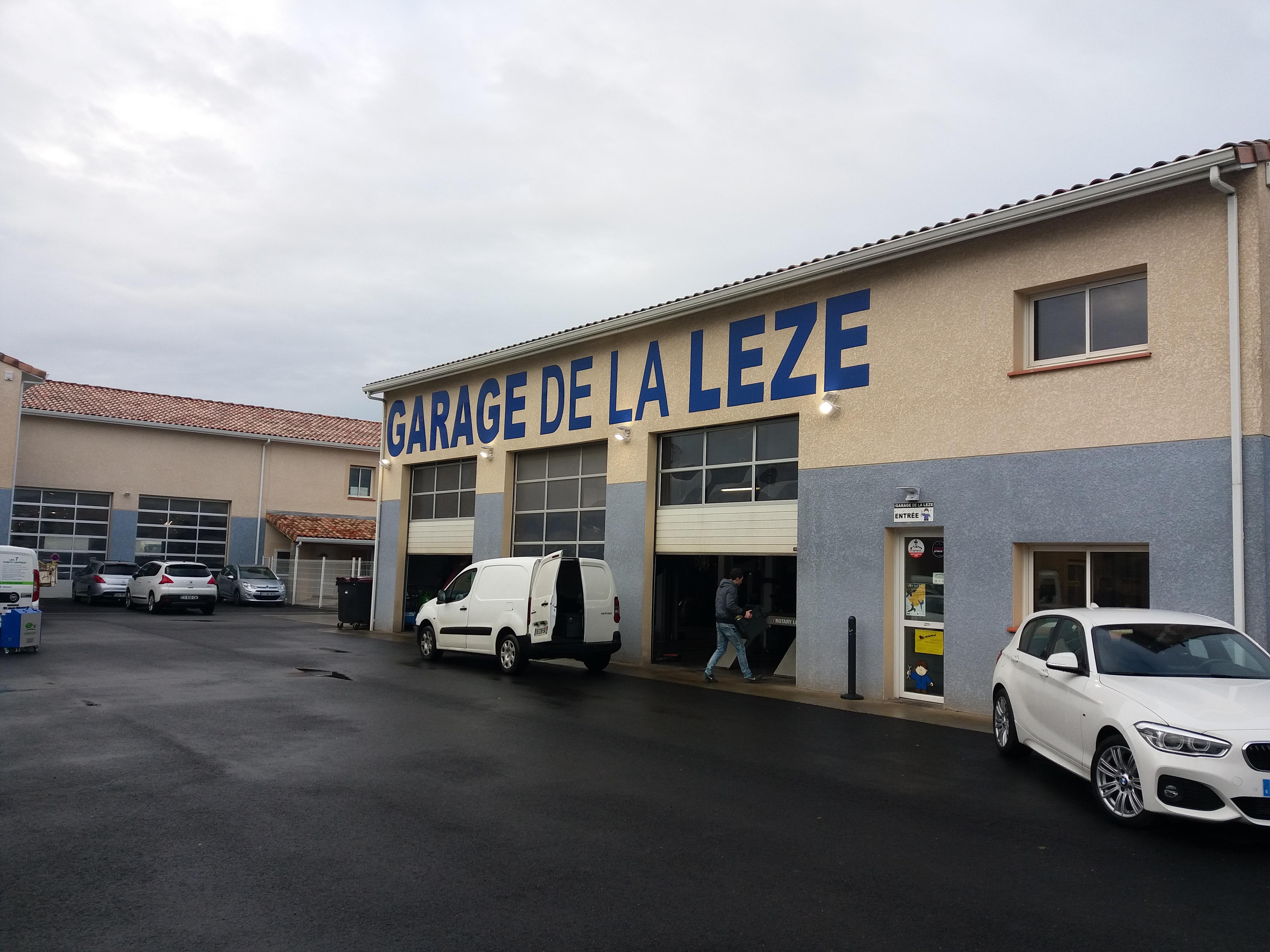 Garage de la lèze