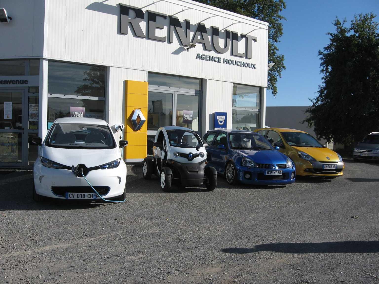RENAULT - Garage Mouchoux