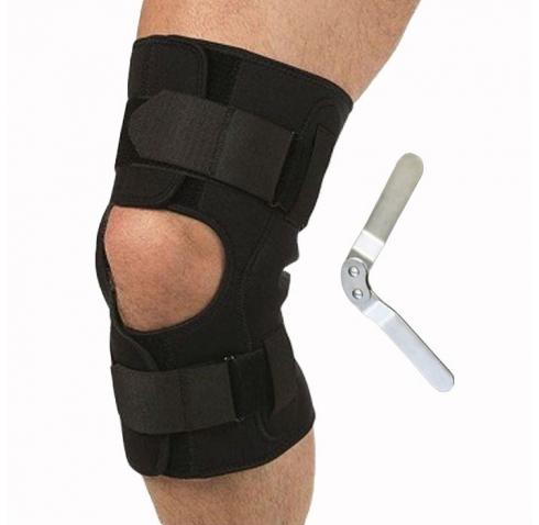 Бандаж на колено разъемный с шарнирами Т-8508