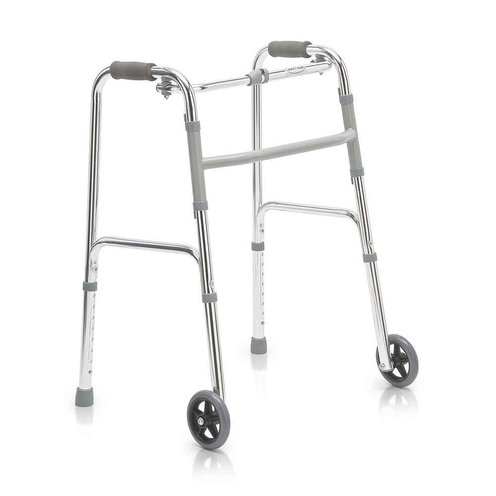 Ходунки шагающие с колесами FS 9125 L