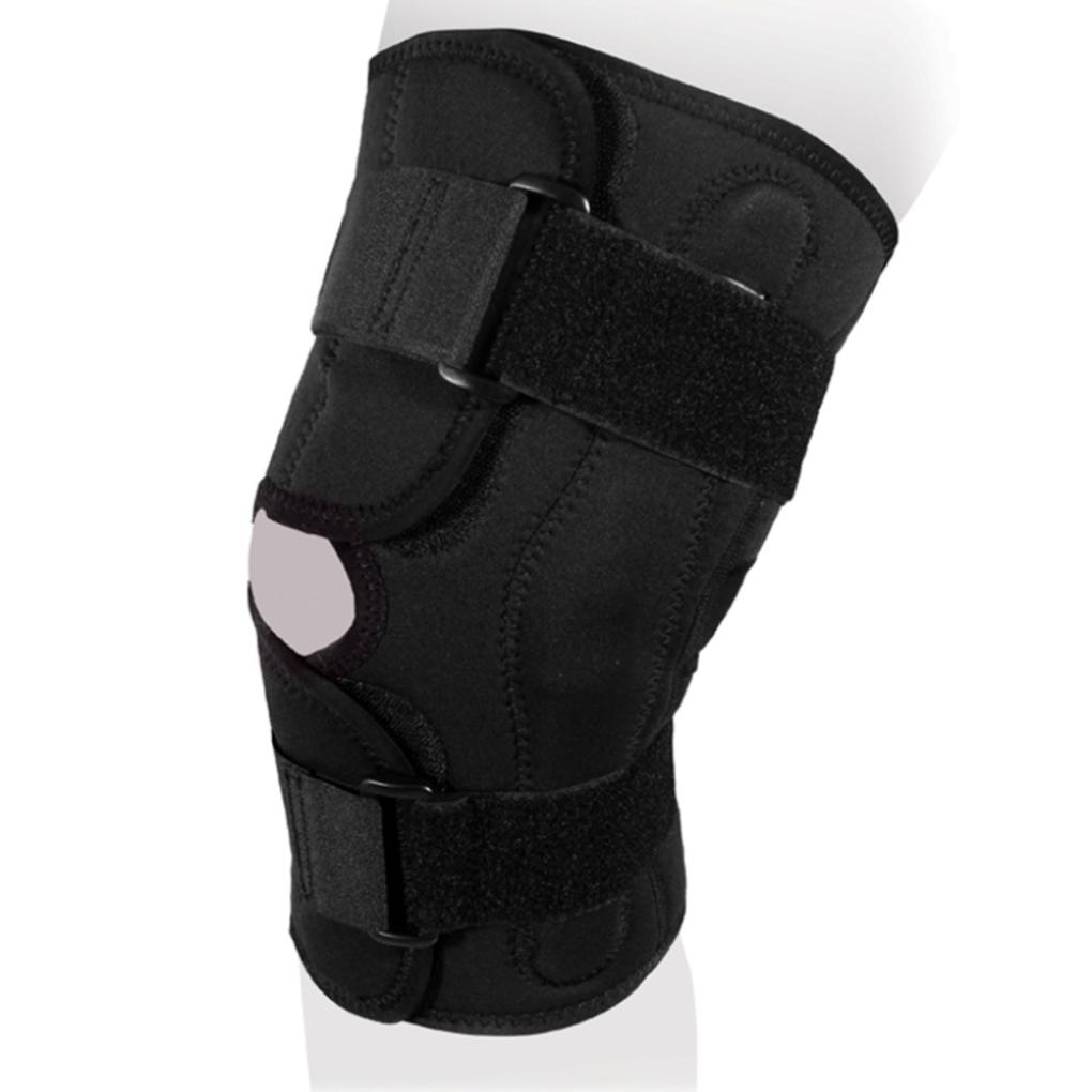 Бандаж на коленный сустав разъёмный KS-055