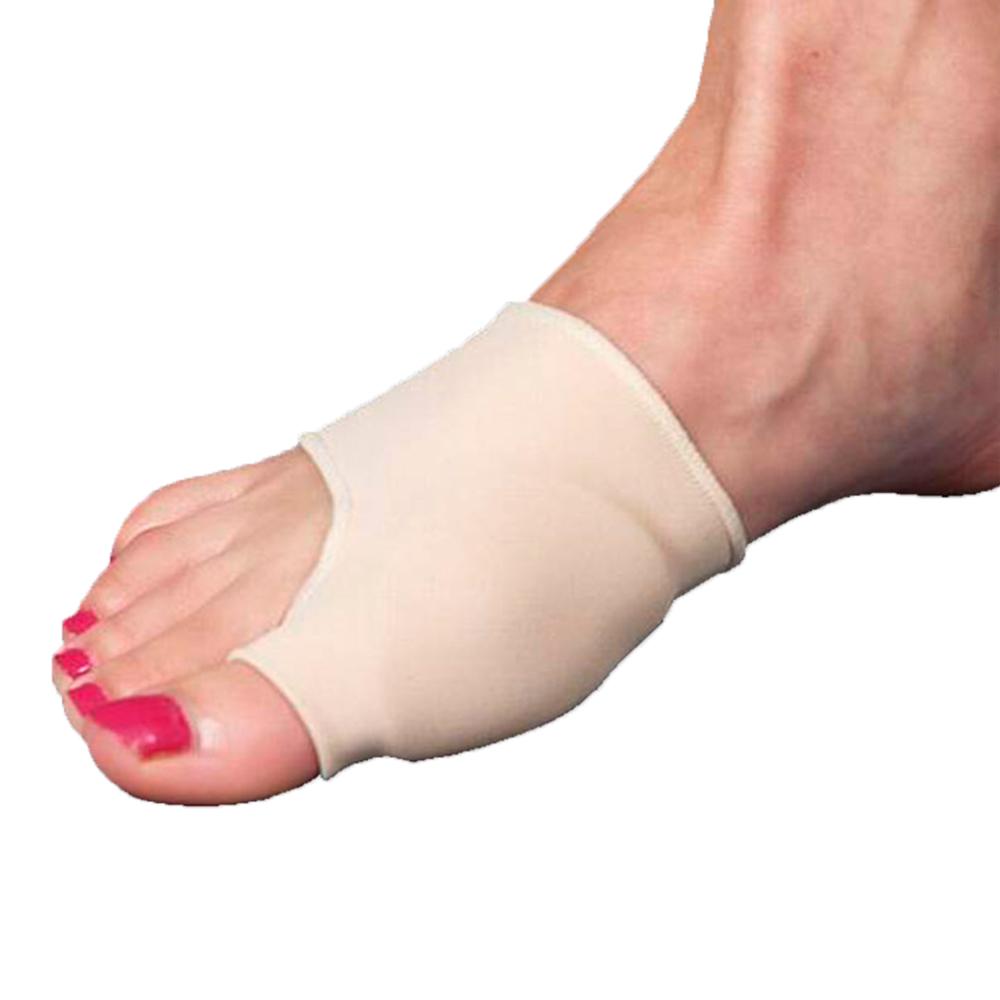 Силиконовый протектор первого пальца стопы на тканевой основе С2726