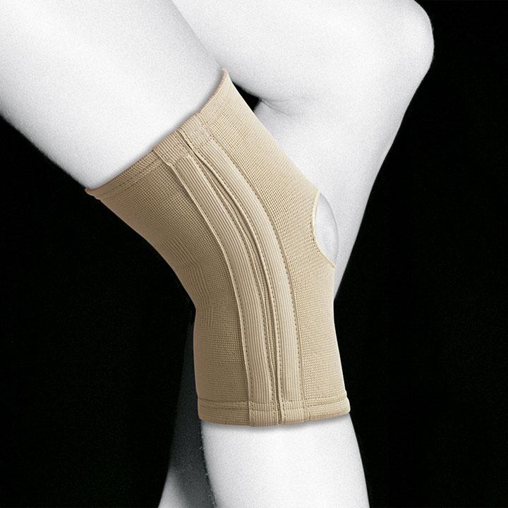 Эластичный коленный бандаж с боковыми шинами TN-211/3