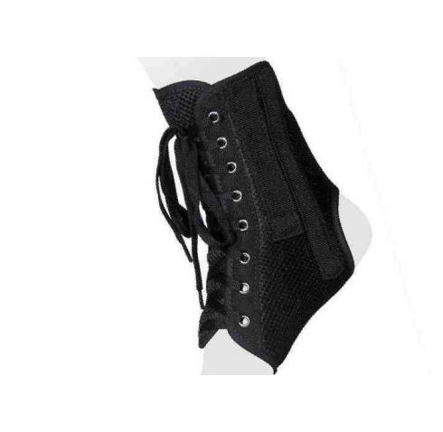 Бандаж на голеностопный сустав со шнуровкой и ребрами жесткости AS-ST