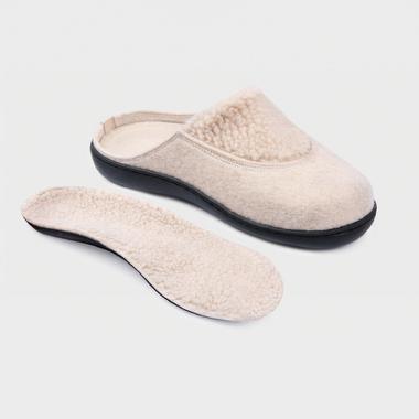 Обувь ортопедическая домашняя, натуральная шерсть LM-803.002