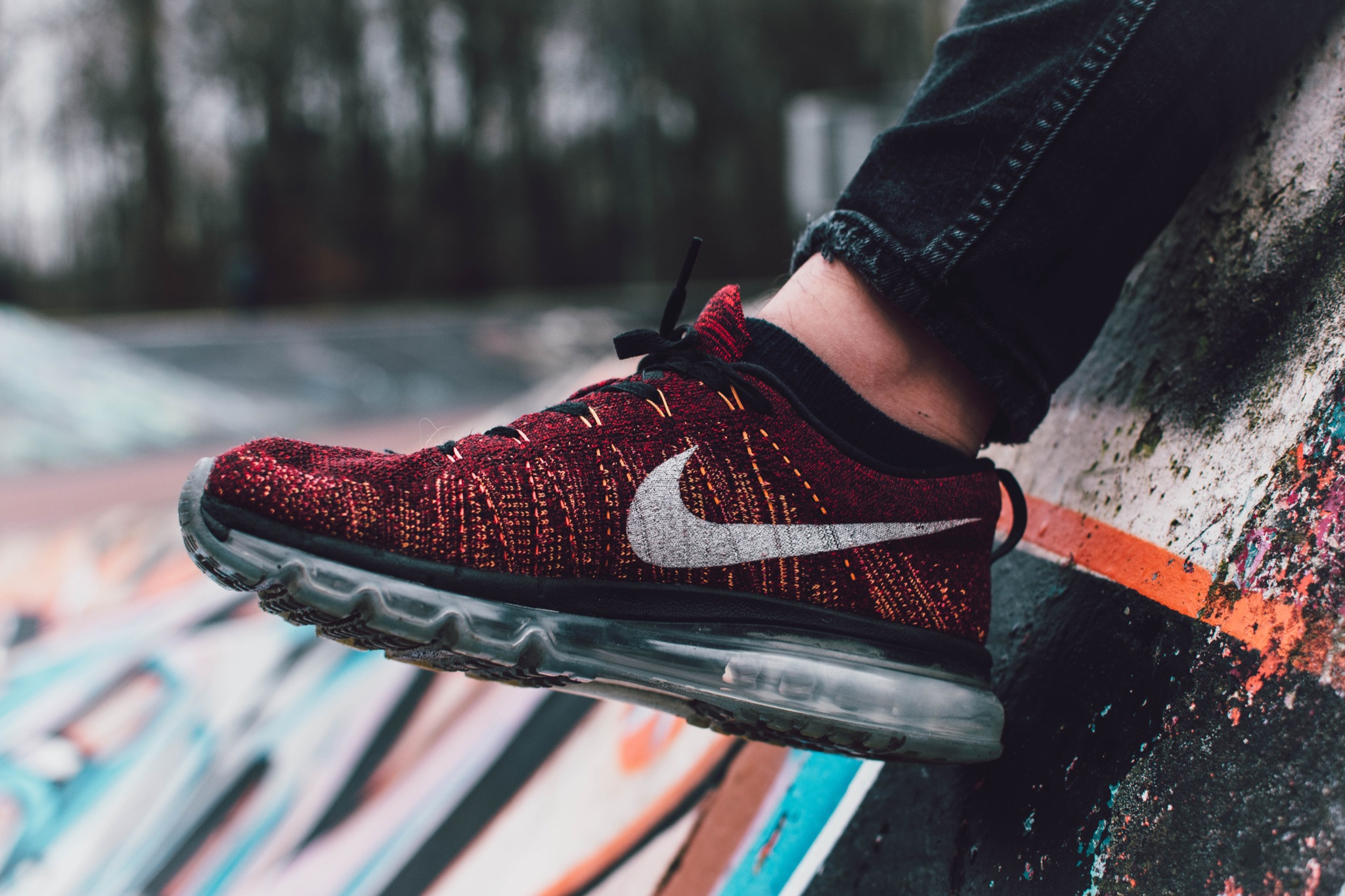 Nike Vapormax Red