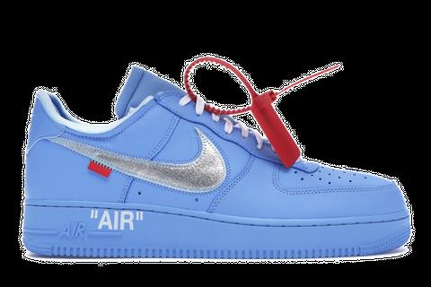 Off White x MCA x Air Force 1 Blue