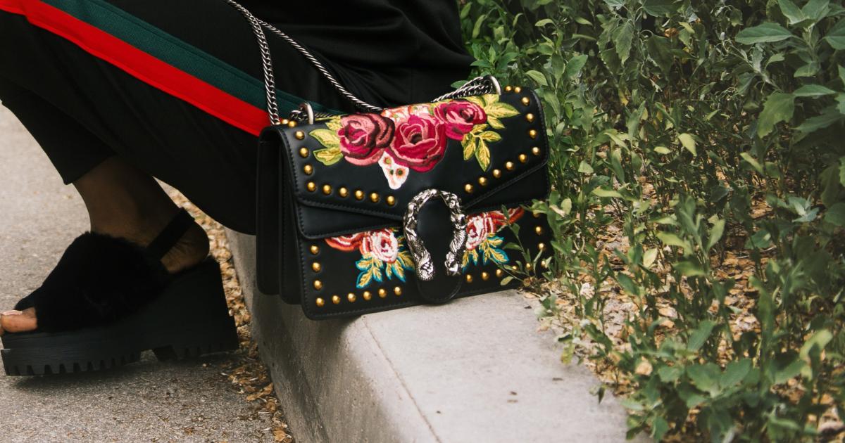 Red Velvet Gucci Bag