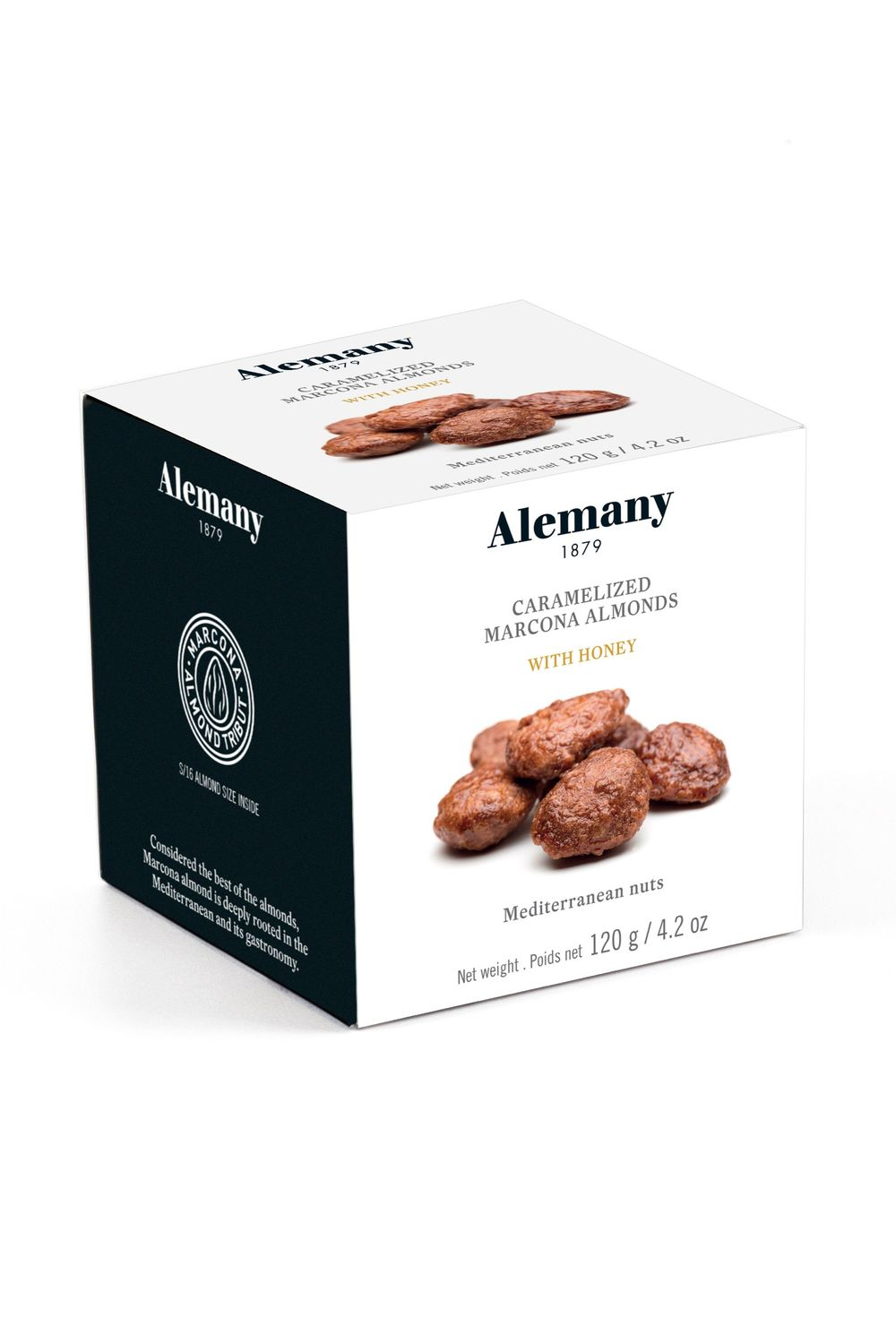Caramelized Almonds with Honey