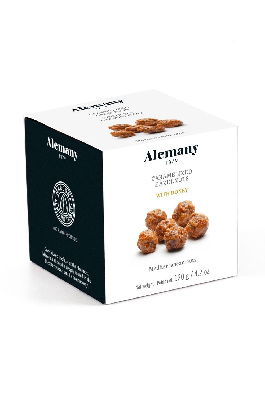 Caramelized Hazelnuts with Honey
