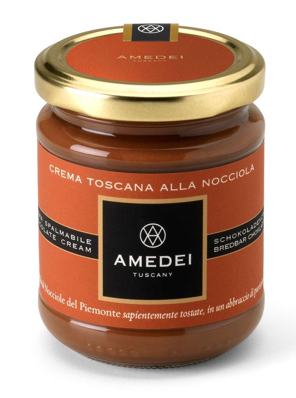 Crema Toscana Alla Nocciola Gianduja - Milk Chocolate