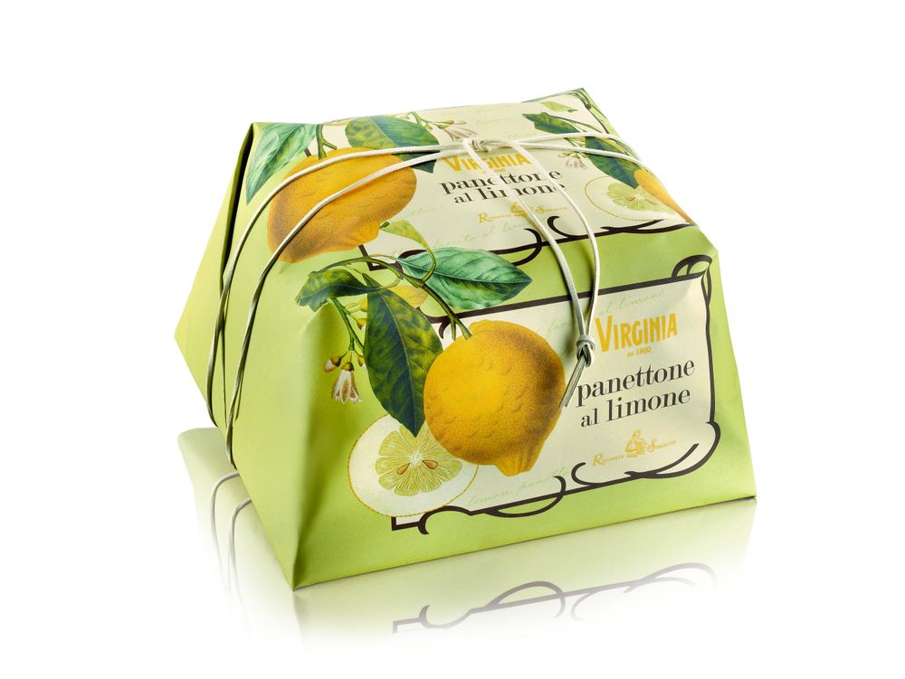 Lemon Panettone