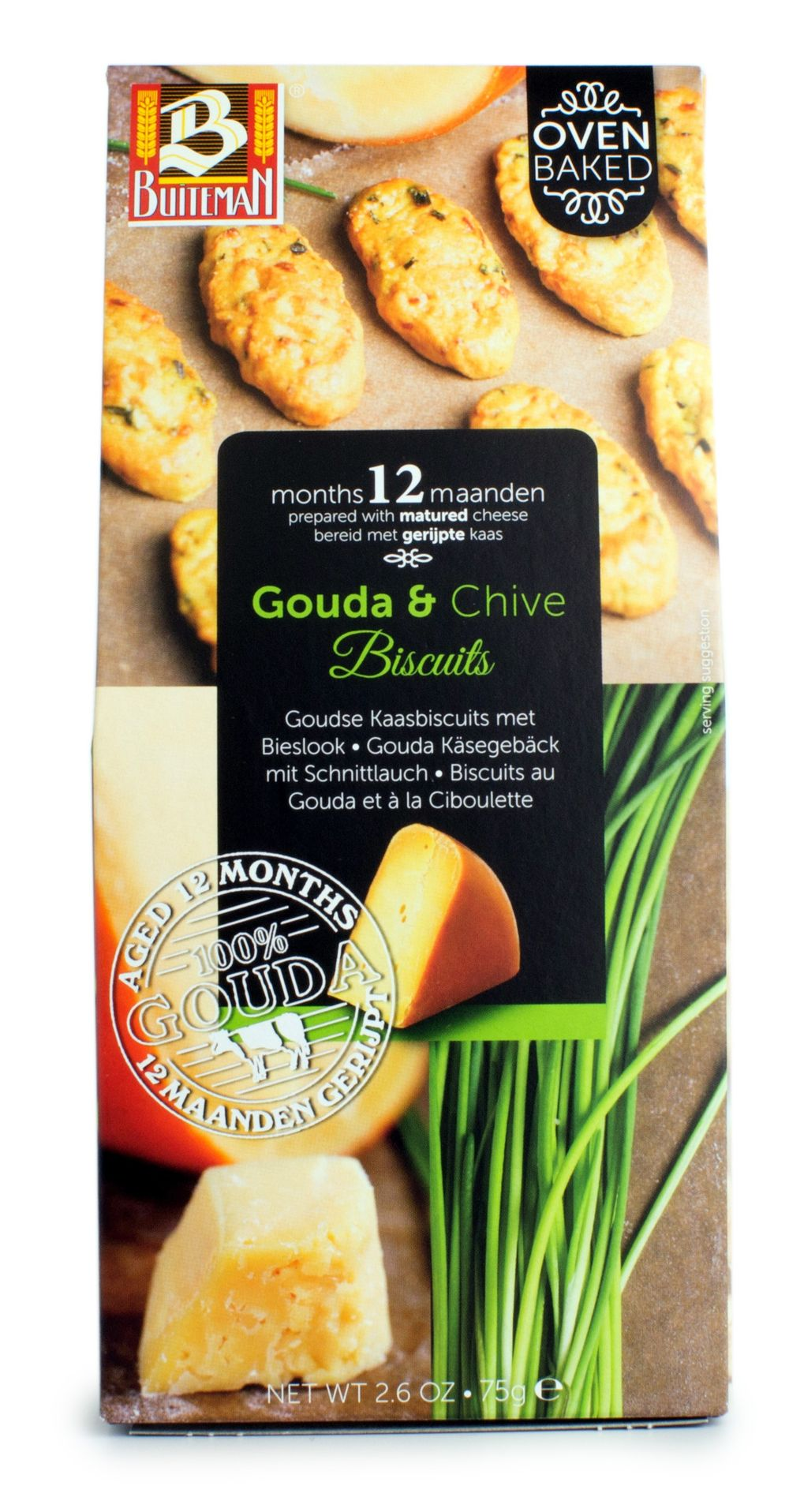 Gouda & Chive Biscuits