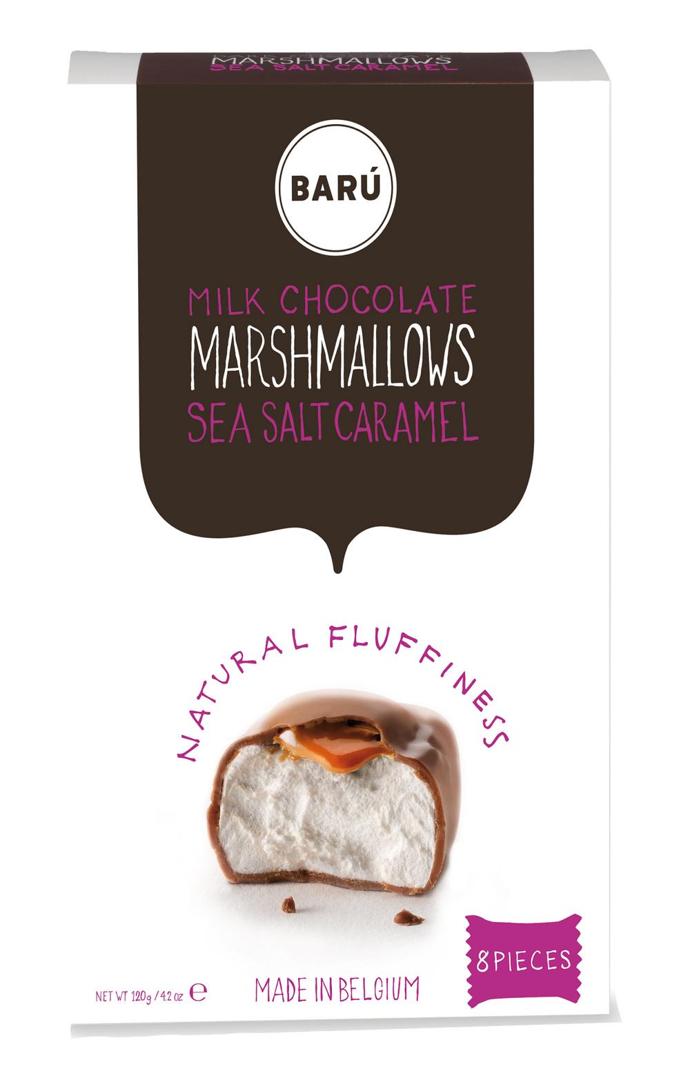 Milk Chocolate Sea Salt Caramel Marshmallows