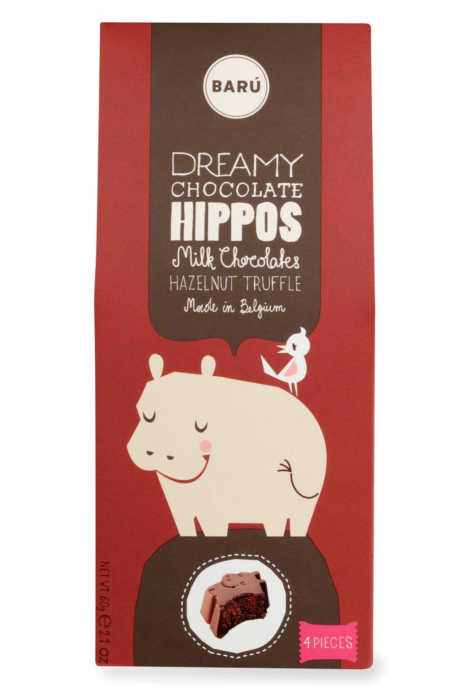 Hazelnut Truffle Hippos