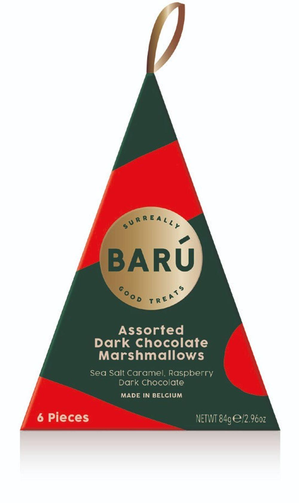 Assorted Dark Chocolate Marshmallows Tree Box