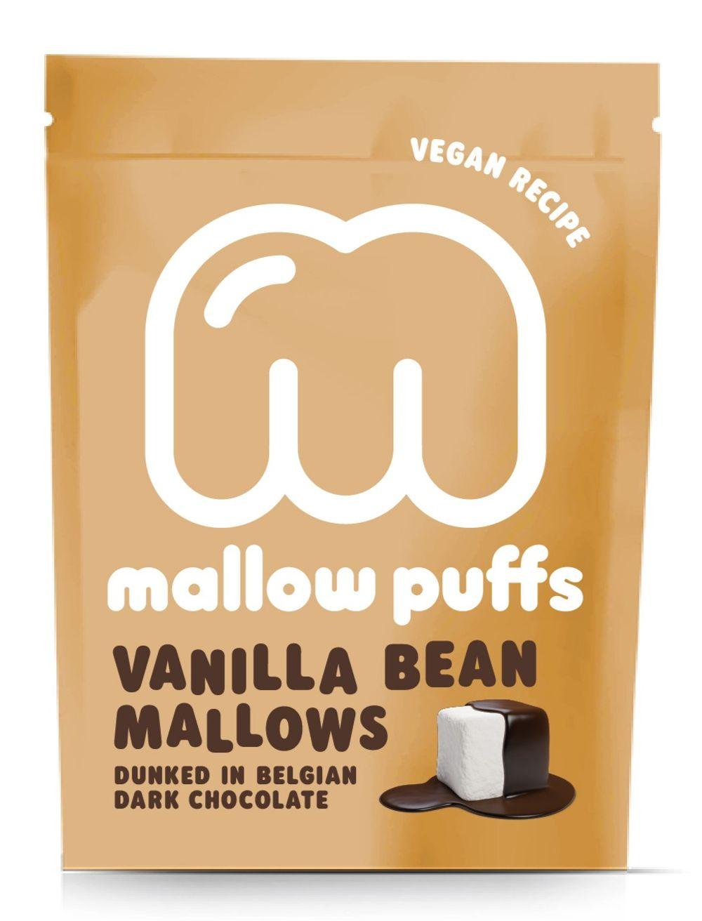 Mallow Puffs - Vanilla Bean & Dark Chocolate