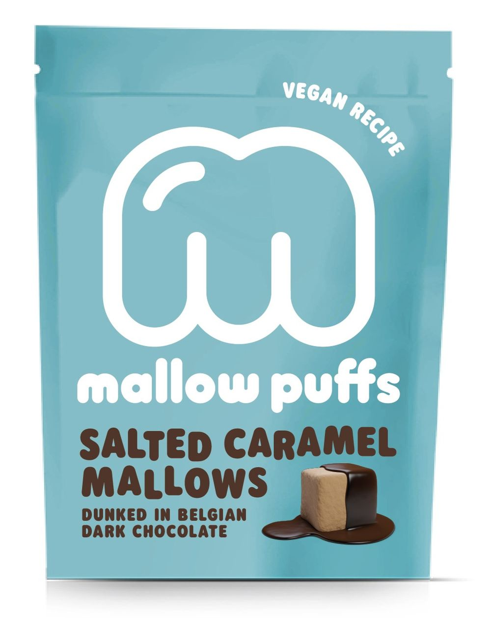 Mallow Puffs - Salted Caramel & Dark Chocolate