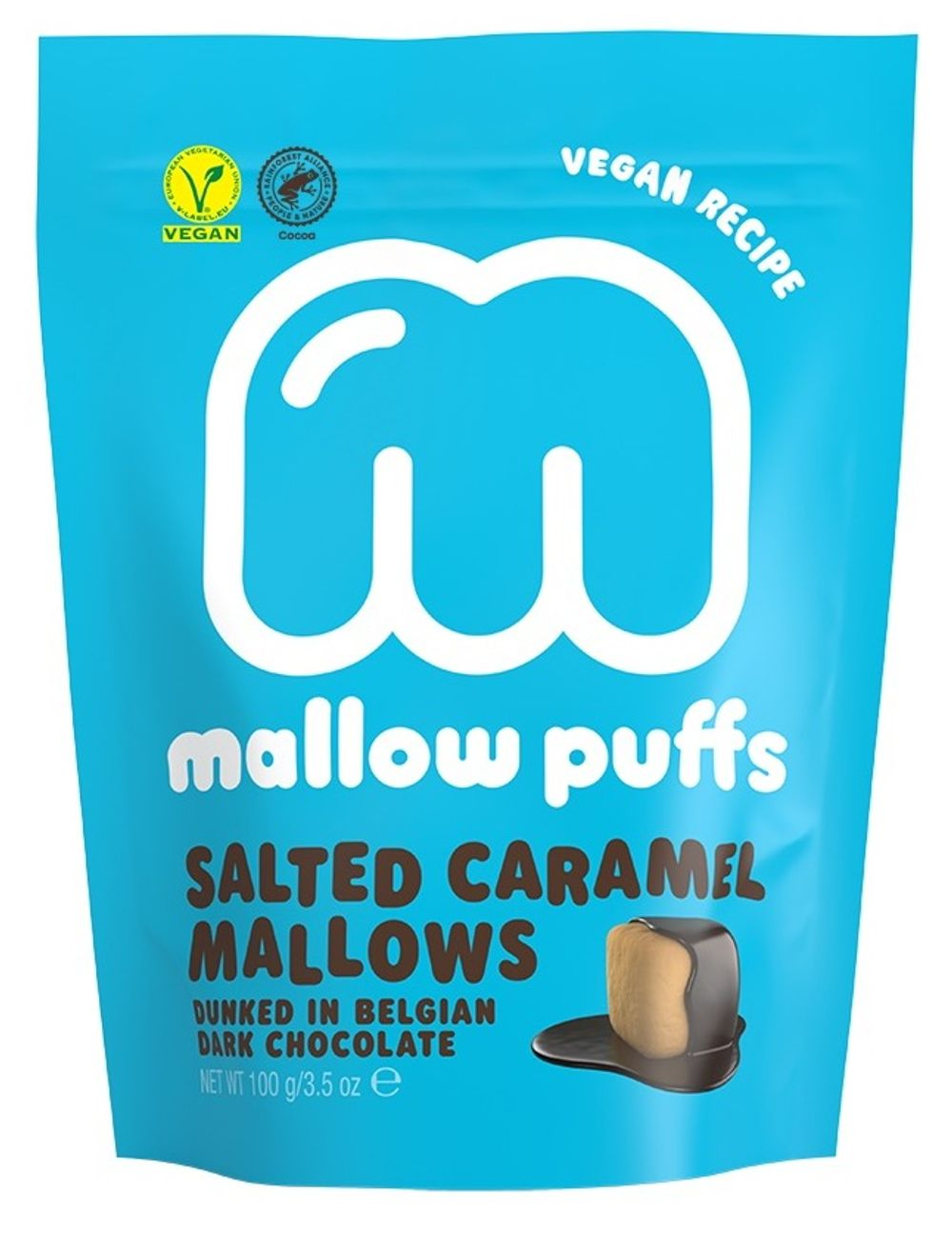 Mallow Puffs - Salted Caramel & Dark Chocolate