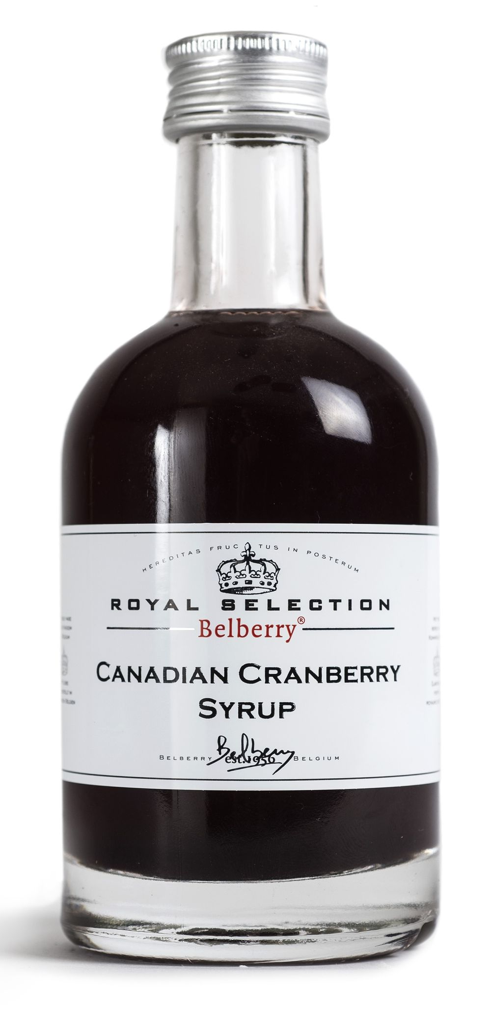 Canadian Cranberry Syrup
