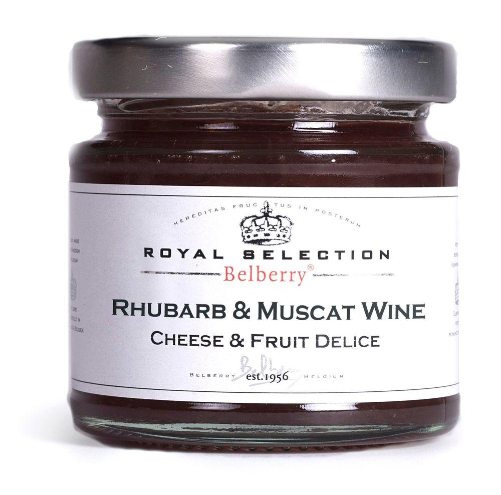 Rhubarb & Muscat Wine Delice