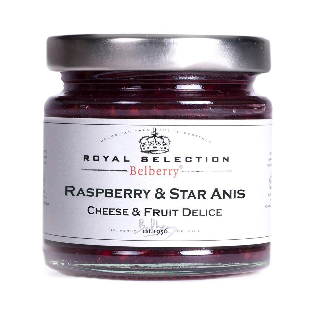 Raspberry & Star Anise Delice