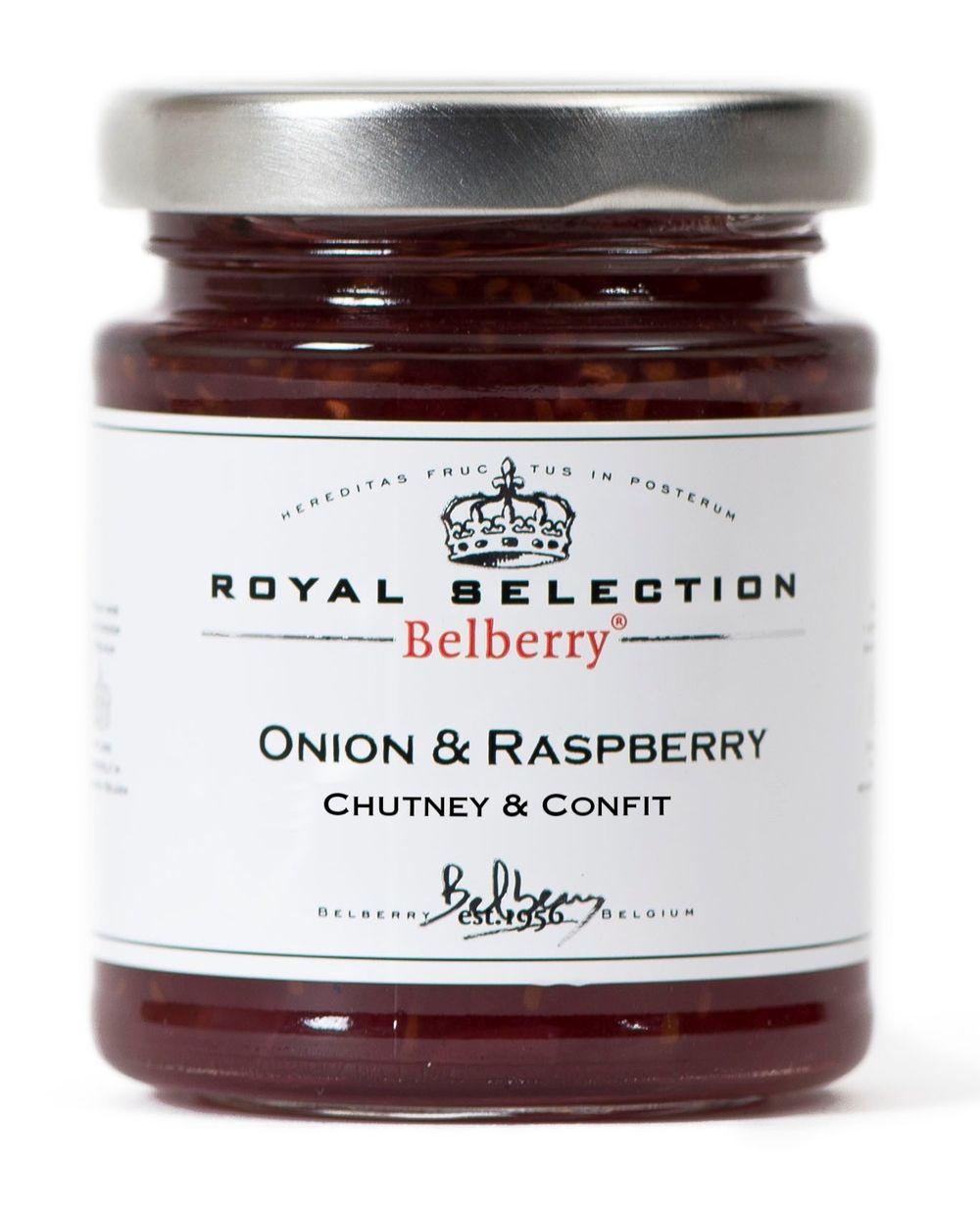 Onion & Raspberry Confit