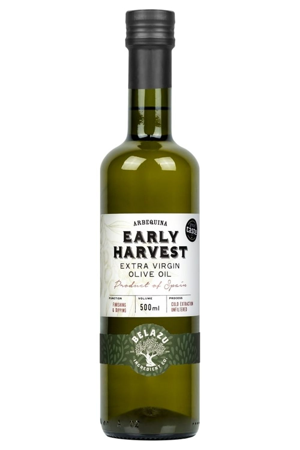 Early Harvest Arbequina Olive Oil