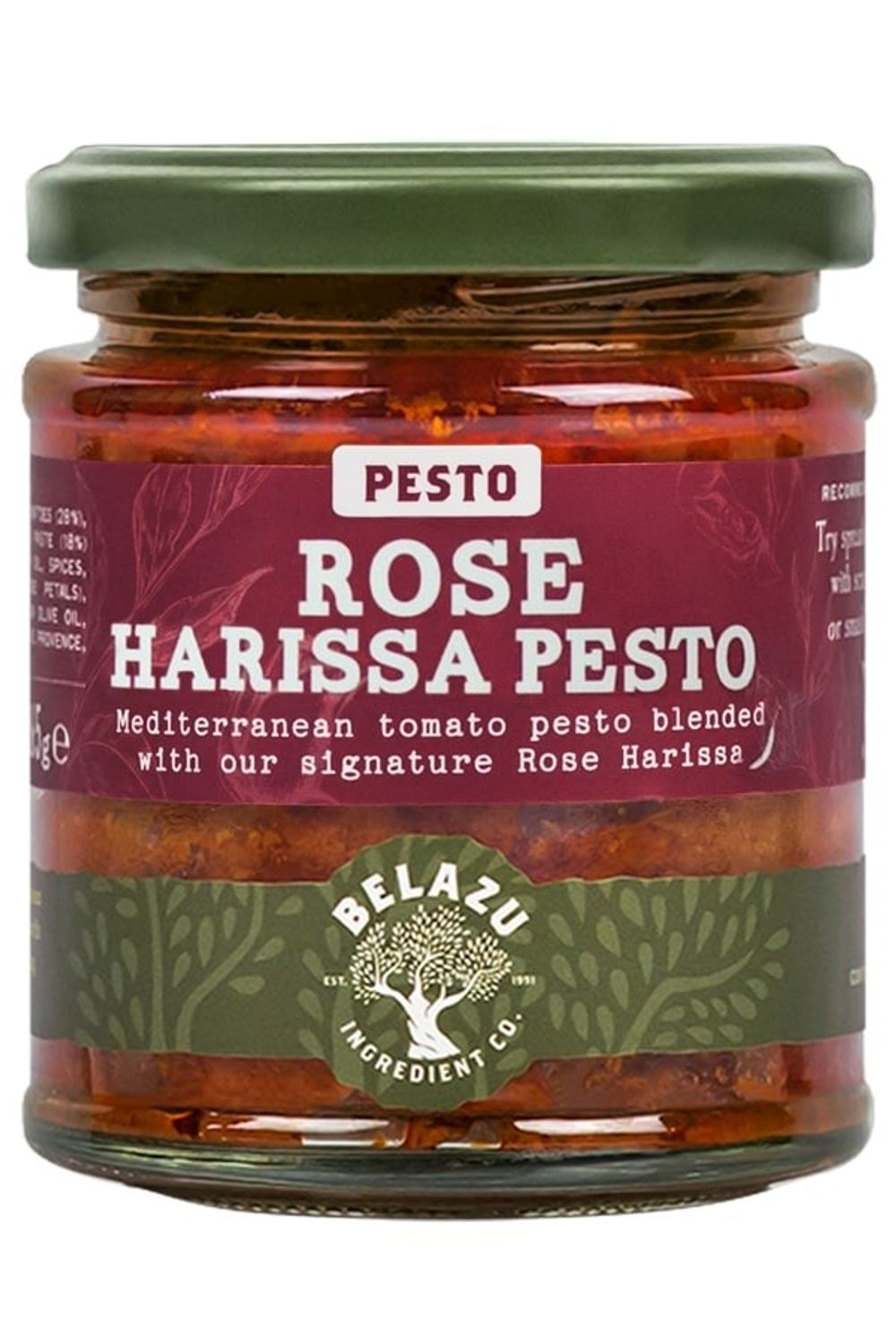 Rose Harissa Pesto