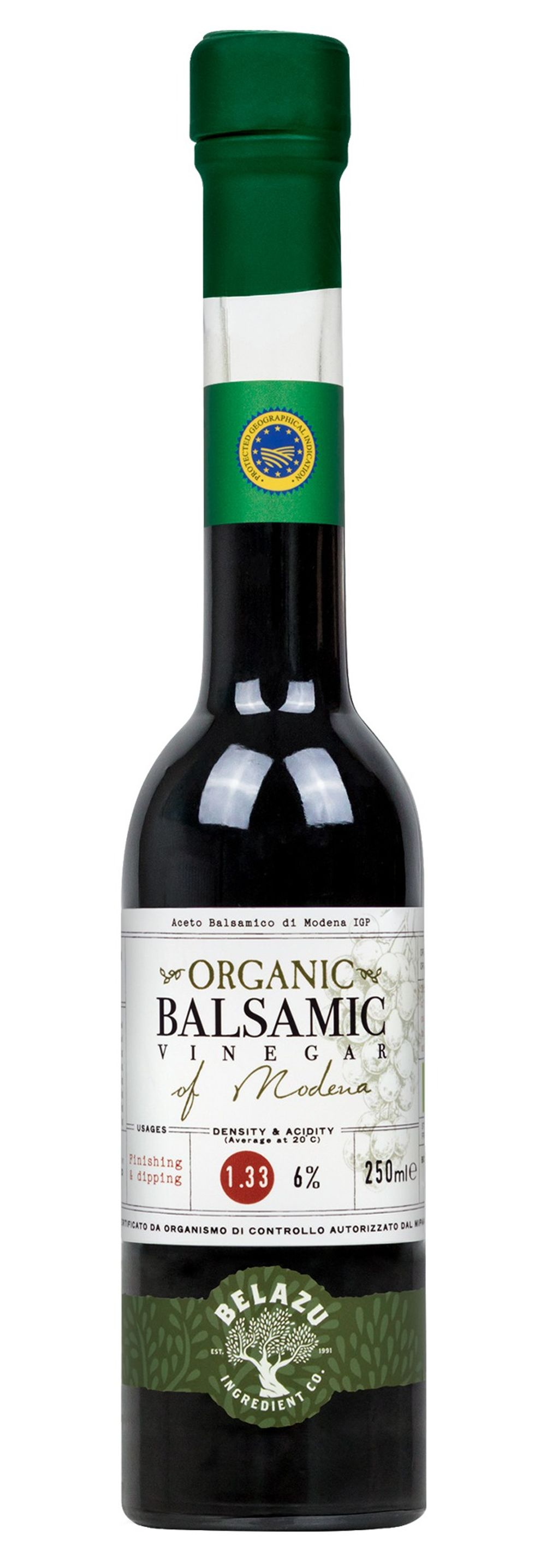 Organic Balsamic Vinegar - Density 1.33