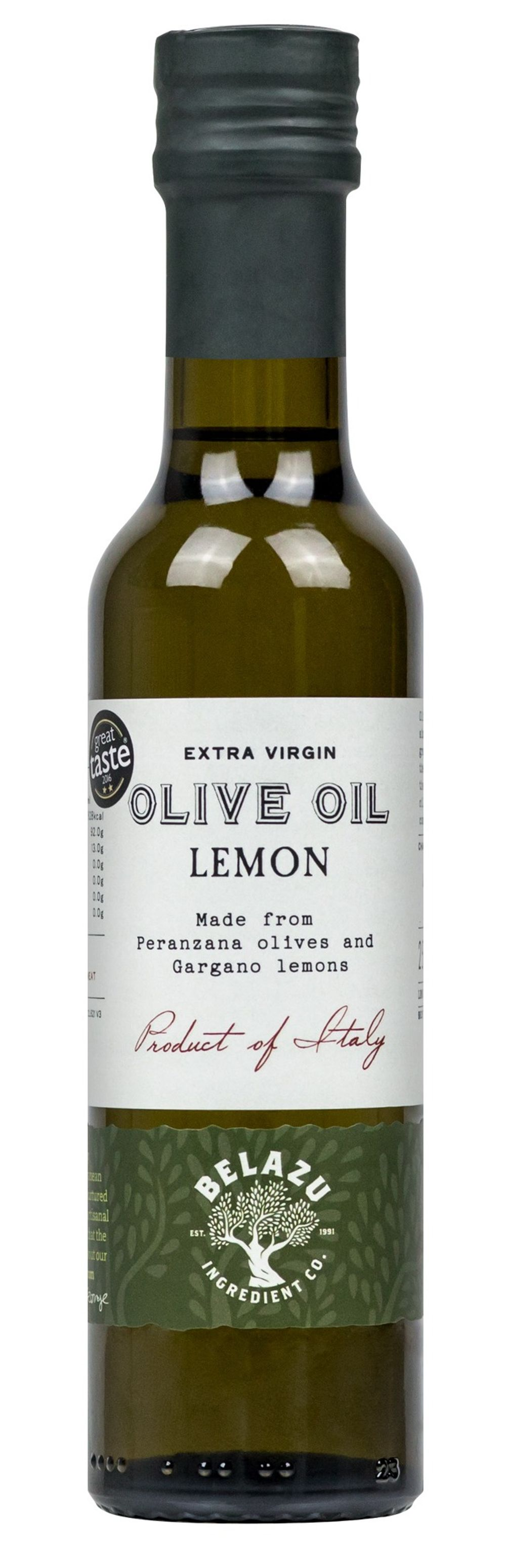 Infused Lemon Olive Oil