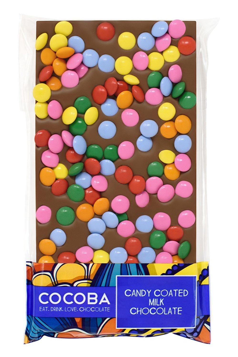 Candy Coated Milk Chocolate Bar