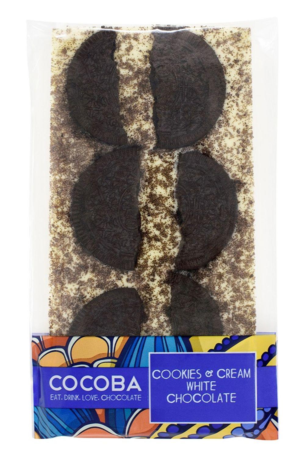 Cookies & Cream White Chocolate Bar