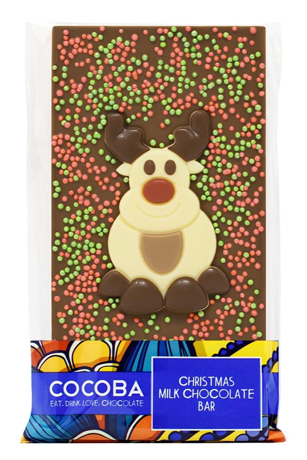 Reindeer Milk Chocolate Bar