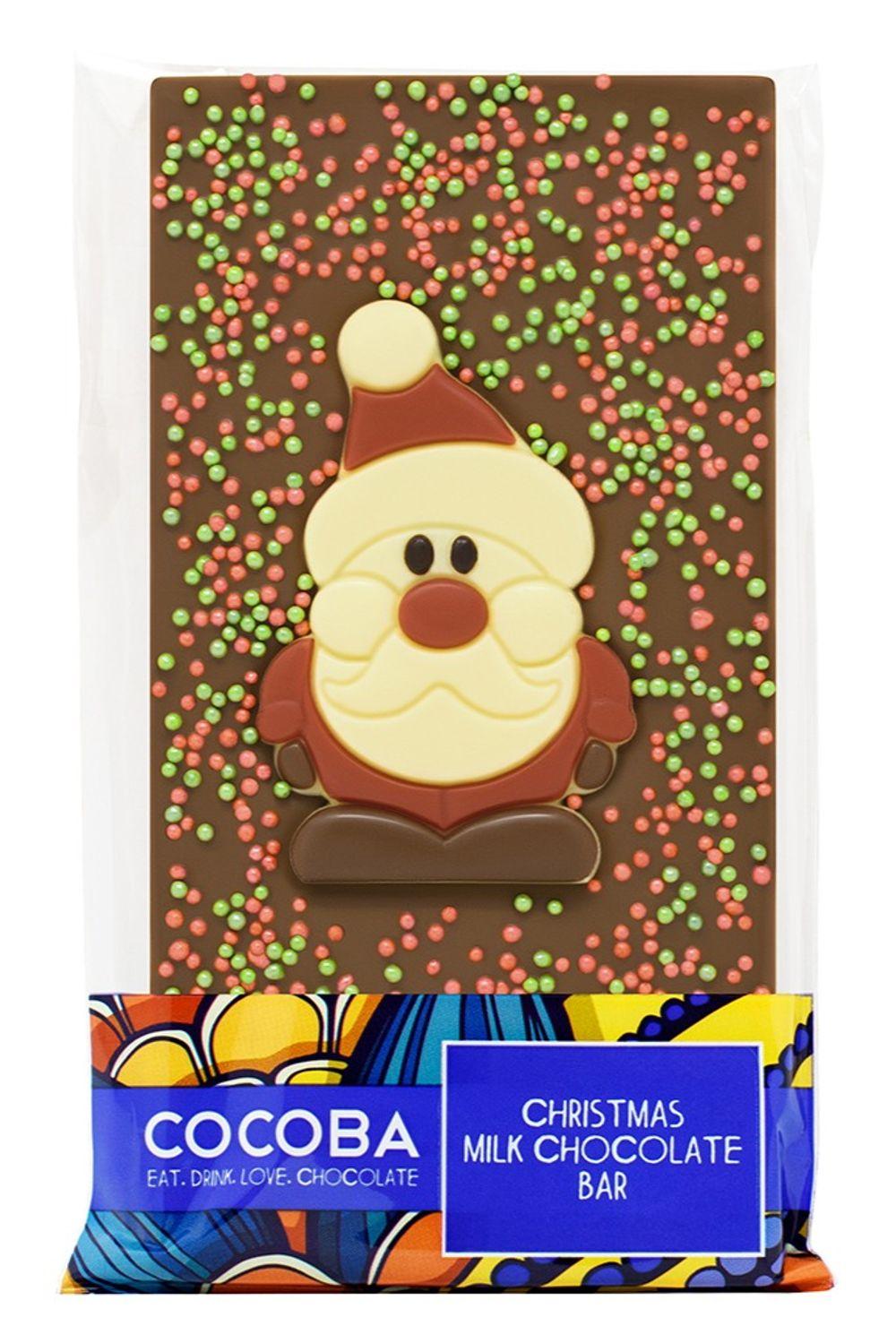 Santa Milk Chocolate Bar