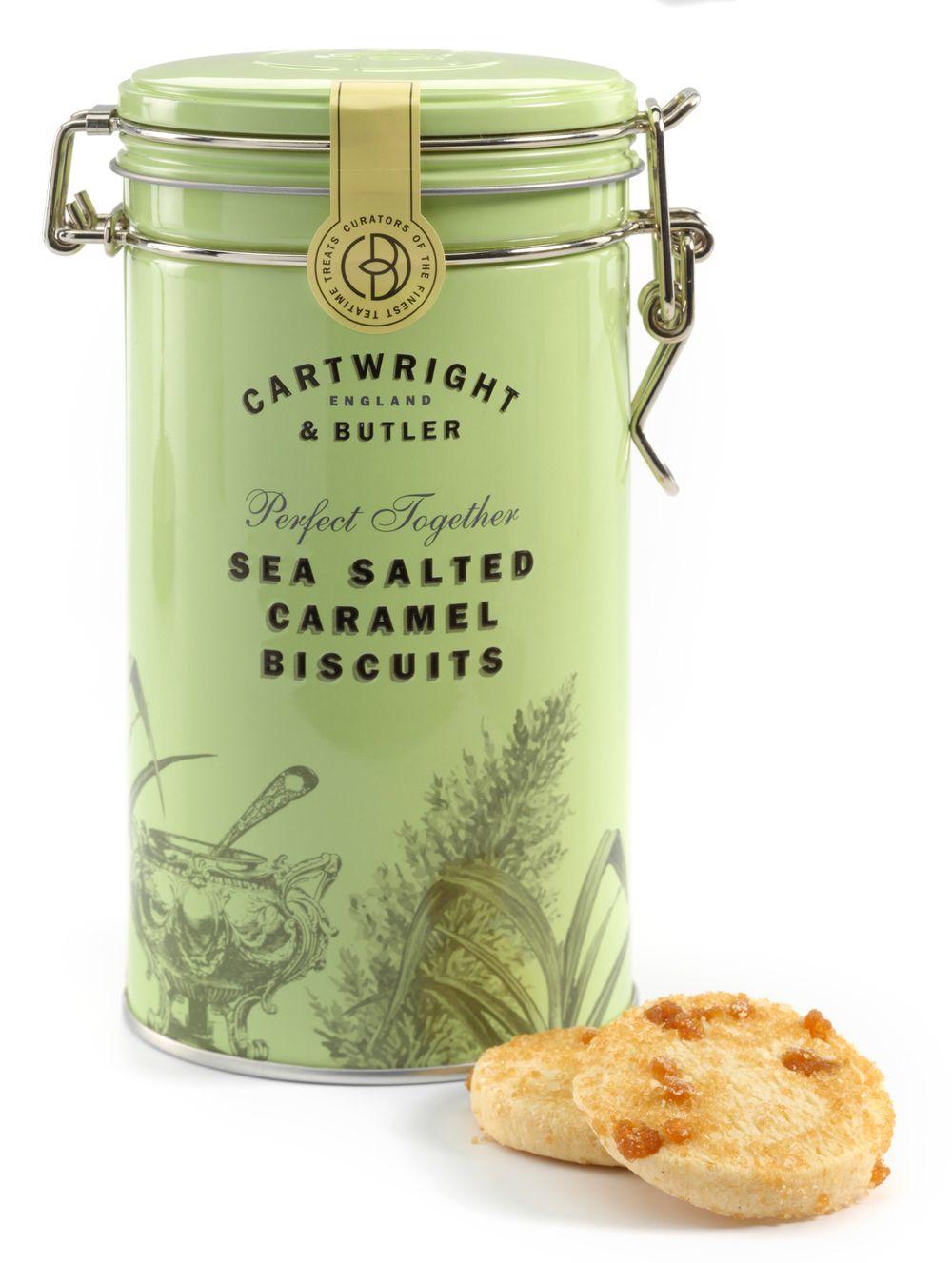 Salted Caramel Biscuit Tin