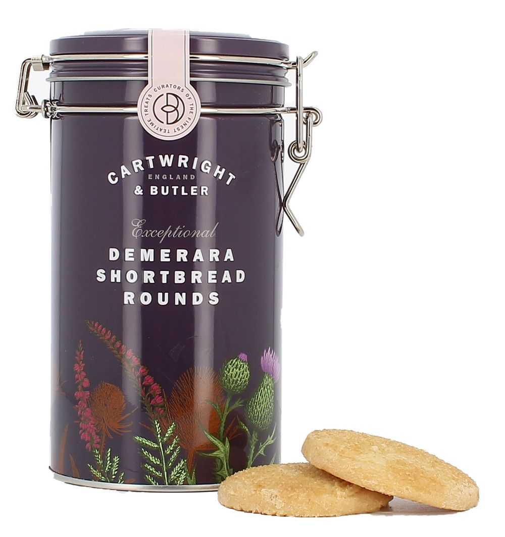 Demerara Shortbread Rounds Tin