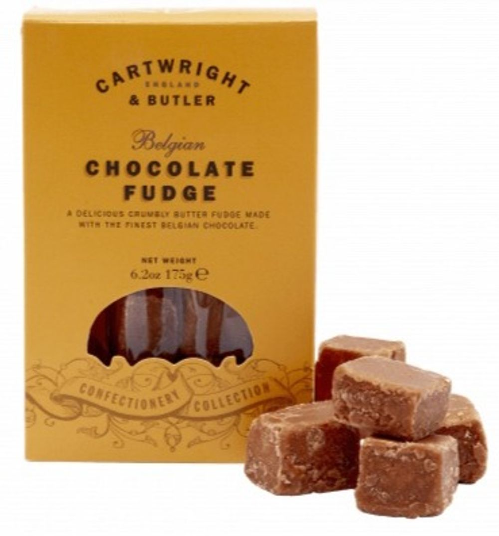 Belgian Chocolate Fudge