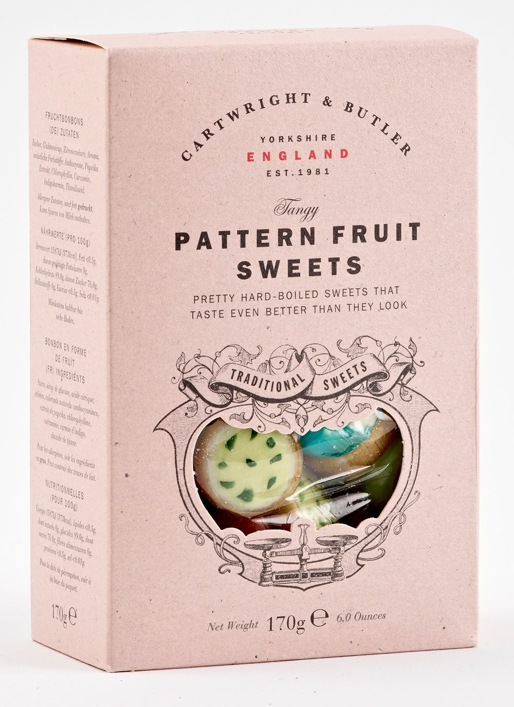 Pattern Fruit Candies