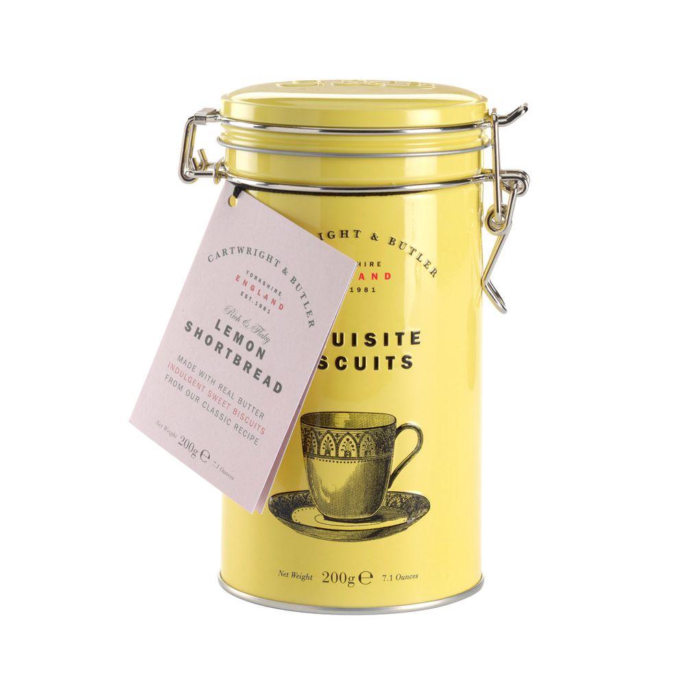 Lemon Shortbread Tin