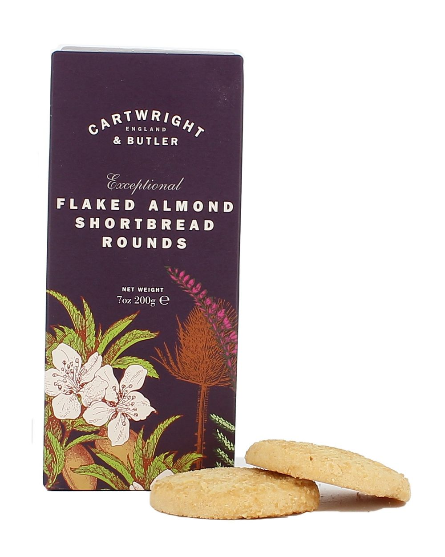 Flaked Almond Shortbread