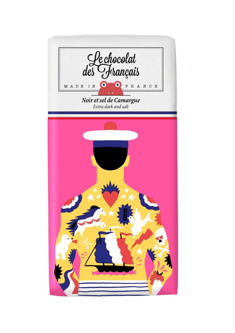 Dark Chocolate & Salt from Camargue - Tattooed Sailor